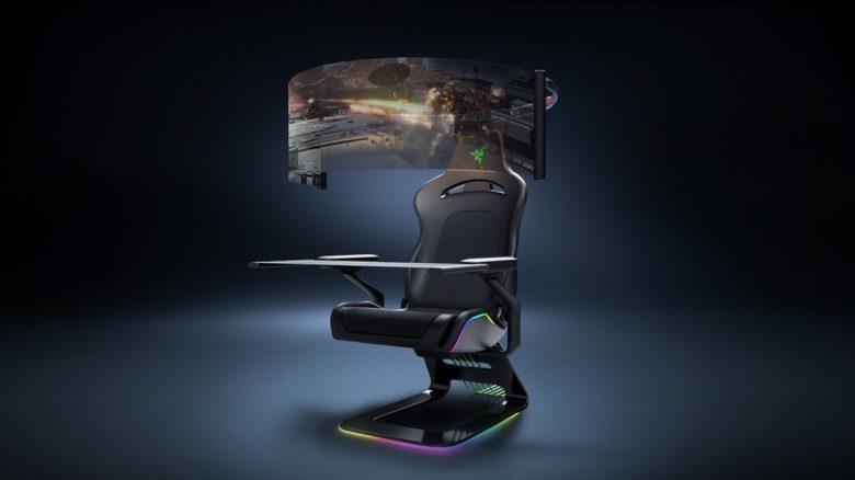 Razer zeigt innovativen Gaming-Stuhl, in dem ihr garantiert sitzen wollt