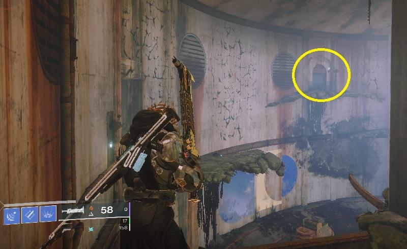 Tür Reservoir verstckt Destiny 2