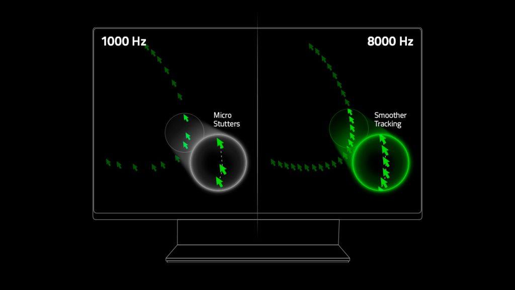 Vergleich 1000hz vs 8000hz