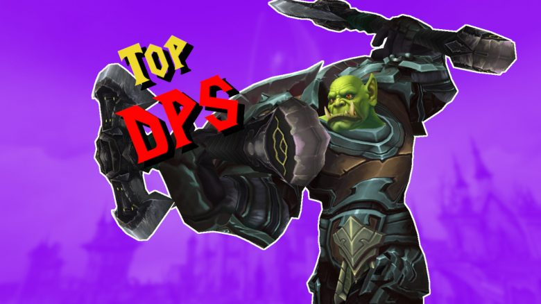 WOW Shadowlands Top DPS TItel