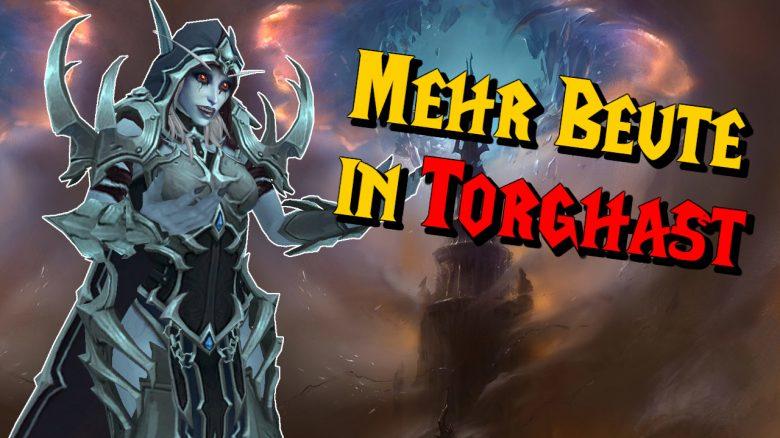 WoW Sylvanas Mehr Beute in Torghast titel title 1280x720