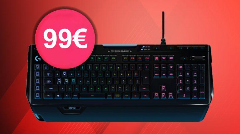 High-End-Tastatur für Spieler: Logitech G910 reduziert bei Amazon