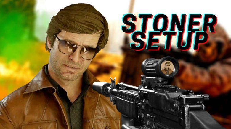 cod warzone stoner 63 setup titel