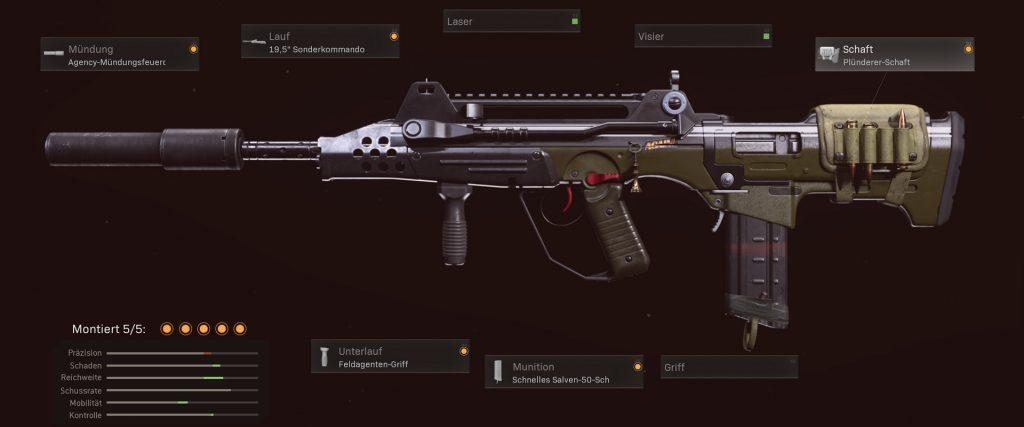cod warzone waffen FFAR 1 setup