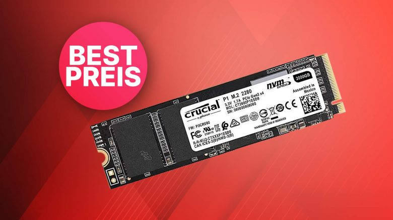 Cyberport Crucial P1 SSD Angebot