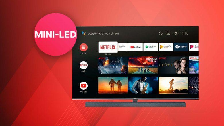 Top-Angebot bei expert: TCL 65X10 Mini-LED 4K TV + gratis Soundbar
