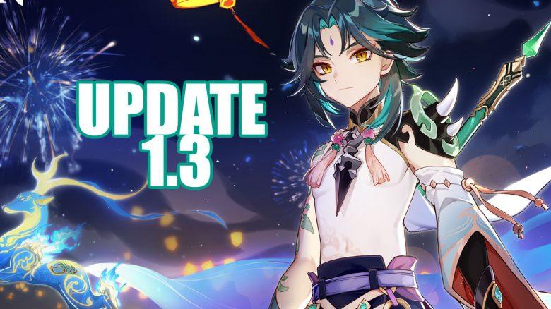 genshin impact update 1.3 xiao header