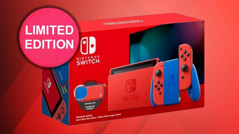 Limitierte Nintendo Switch für Super-Mario-Fans mit Tasche vorbestellbar