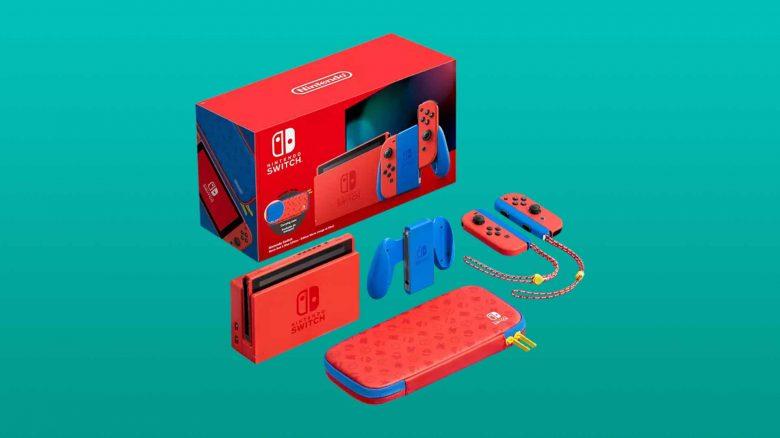 Besondere Nintendo Switch Mario Edition nun im Angebot günstiger