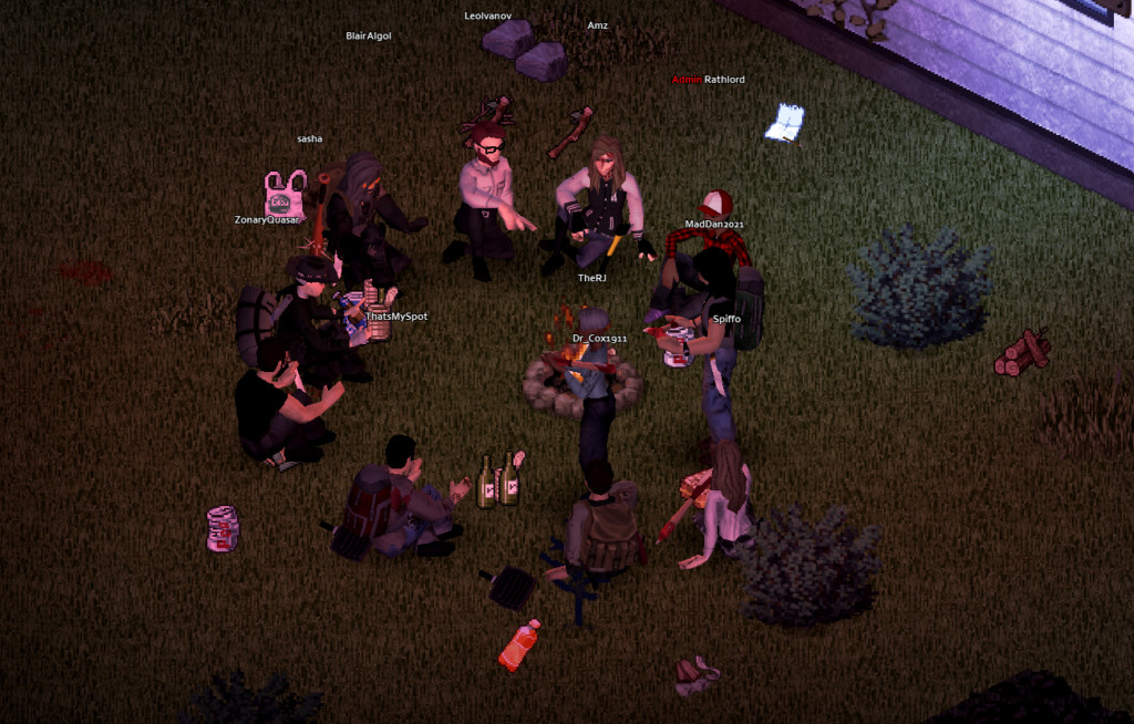 project zomboid gruppen treffen