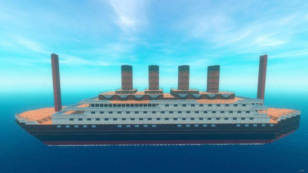 raft bauwettbewerb titanic