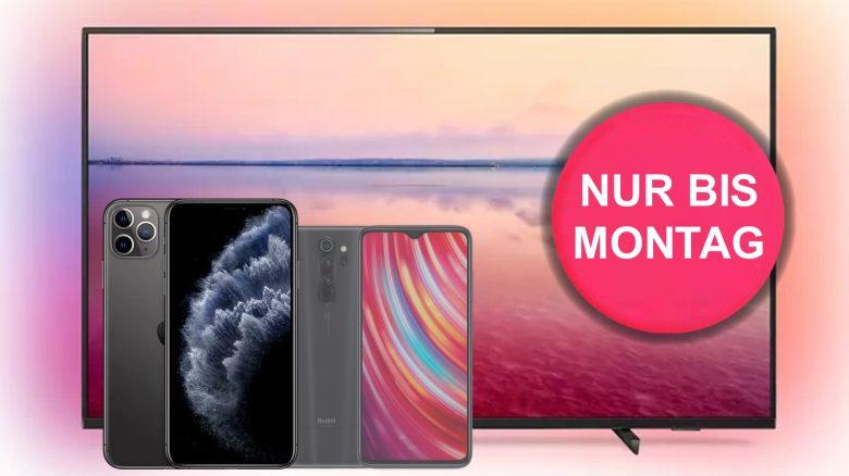 iPhone 11 Pro Max, 70 Zoll Ambilight-TV und mehr günstig bei Saturn