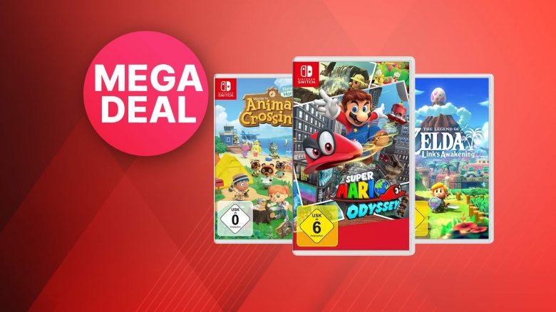 Saturn 3-für-2 Angebot: Nintendo Switch Spiele zum Spitzenpreis kaufen