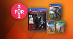 Saturn Angebot: Kracherpreise für PS4-, Nintendo Switch- & Xbox-Spiele