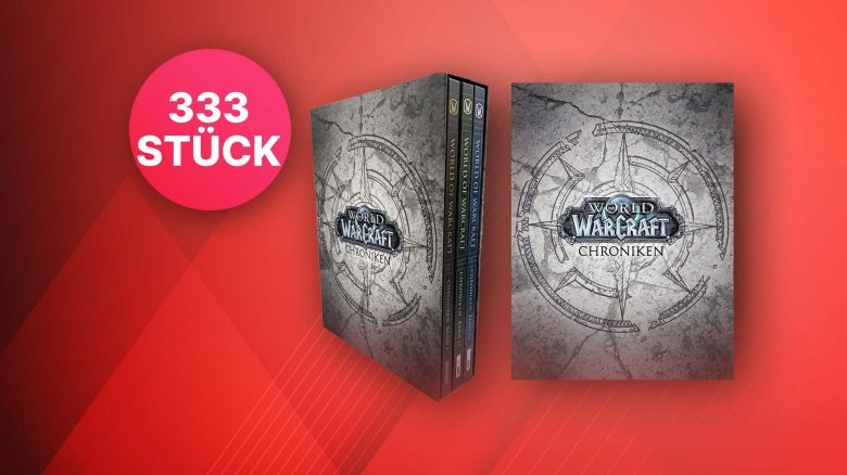 WoW Chroniken Band 1-3: Jetzt die stark limitierte Special Edition kaufen
