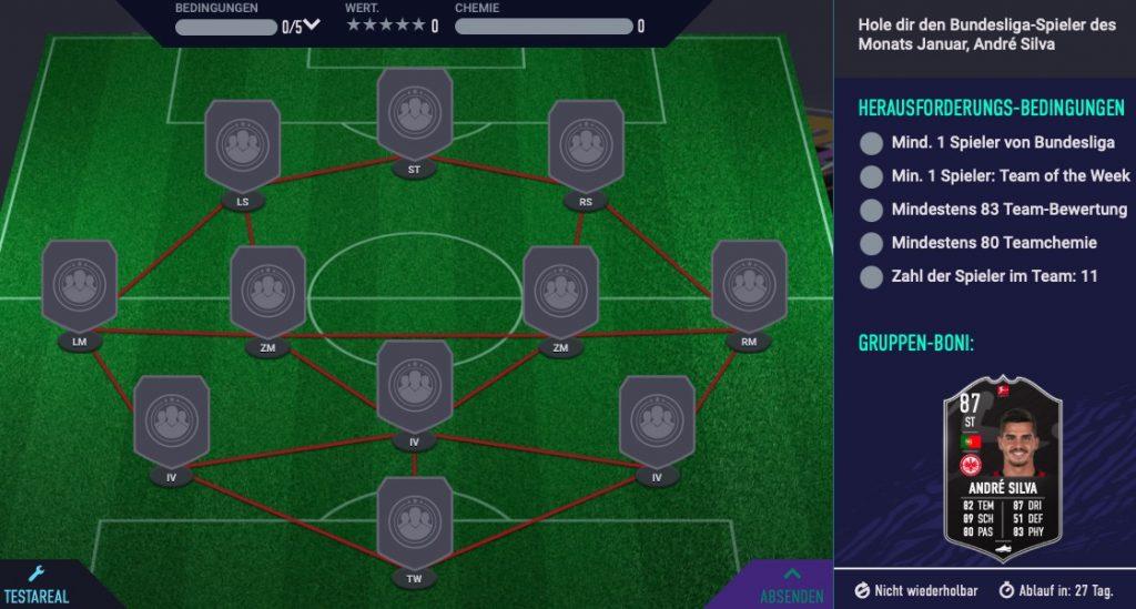 FIFA 21 Andre Silva SBC