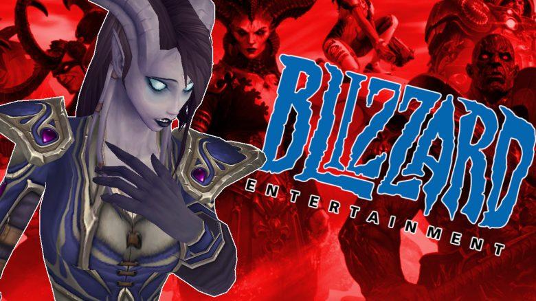 Blizzard Draenei Sad red background titel title 1280x720