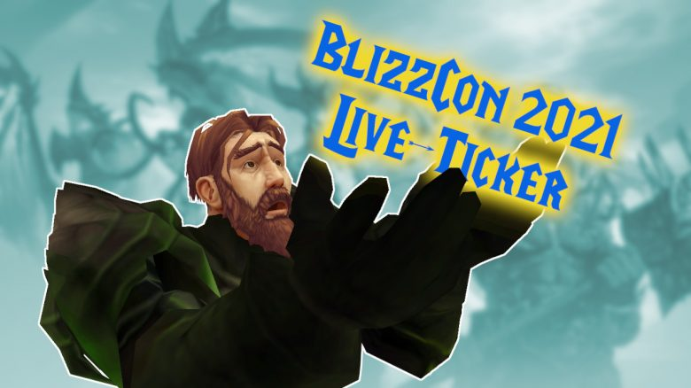 Blizzcon 2021 Liveticker Titel
