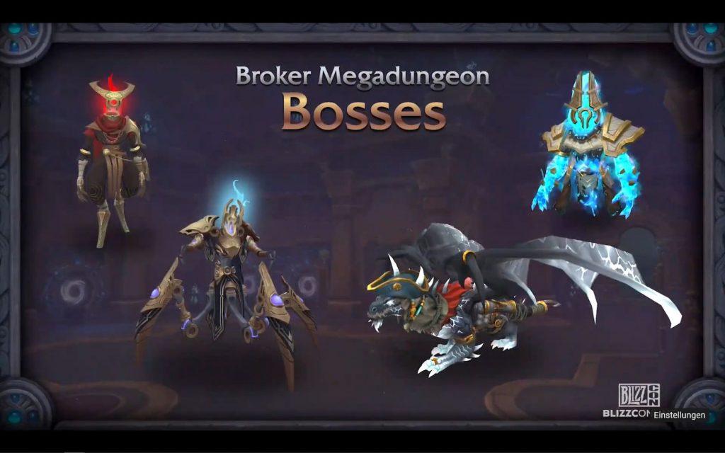 Broker Mega Dungeon Strange Bosses