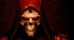 DIablo 2 resurrected titel skull