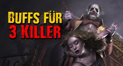 Dead by Daylight Clown Buffs fuer 3 Killer titel title 1280x720