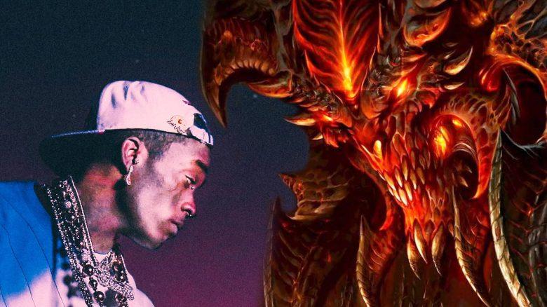 Rapper trägt jetzt Diamant für 24 Millionen $ auf Stirn – Diablo twittert perfekte Reaktion