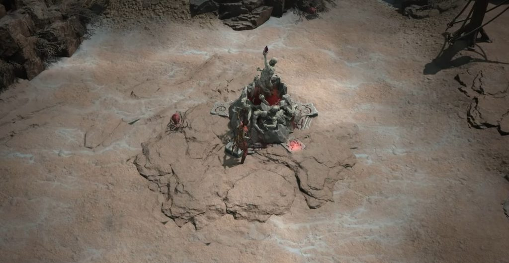 Diablo 4 PvP Altar