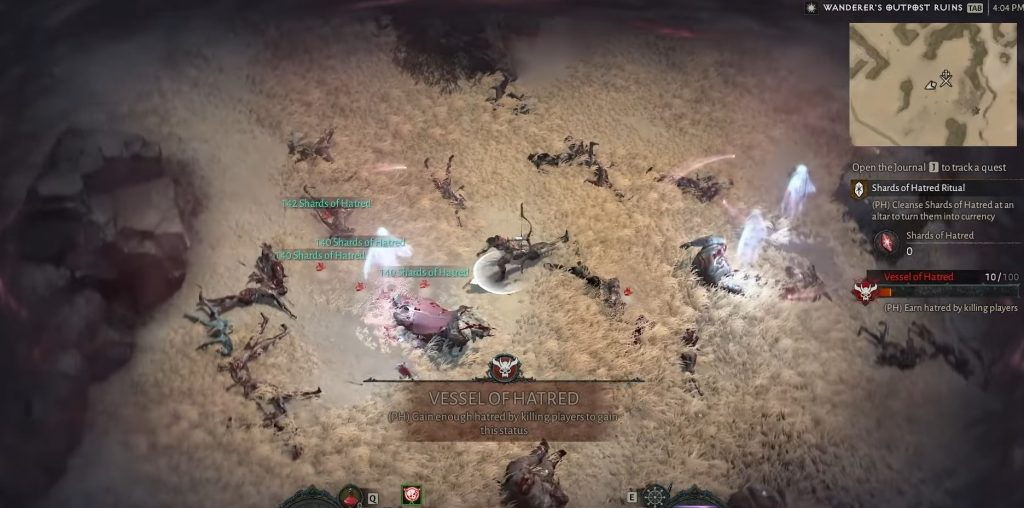 Diablo 4 Shards of Hatred