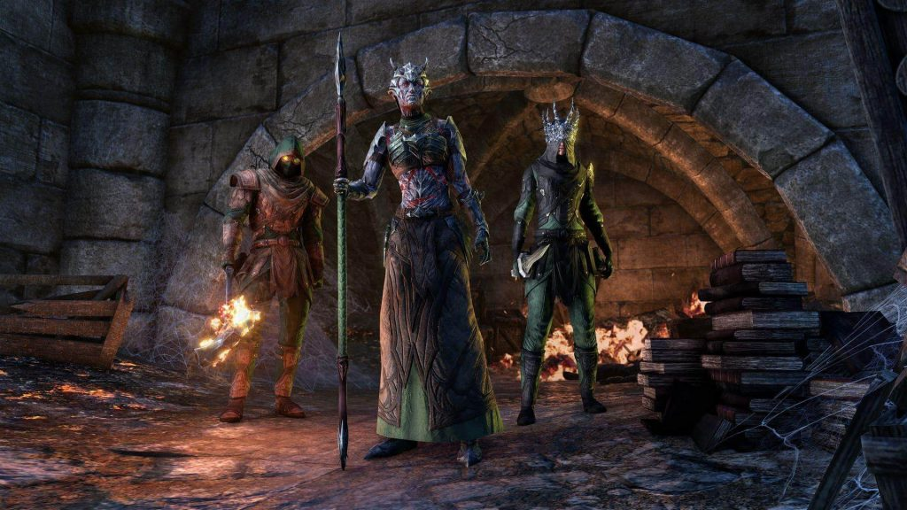 Elder Scrolls Online Cauldron Skin