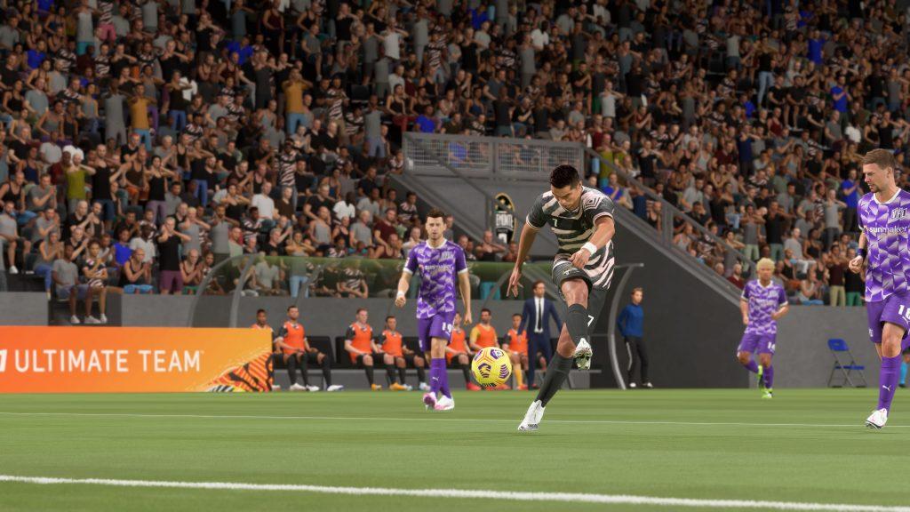 FIFA 21 Schuss