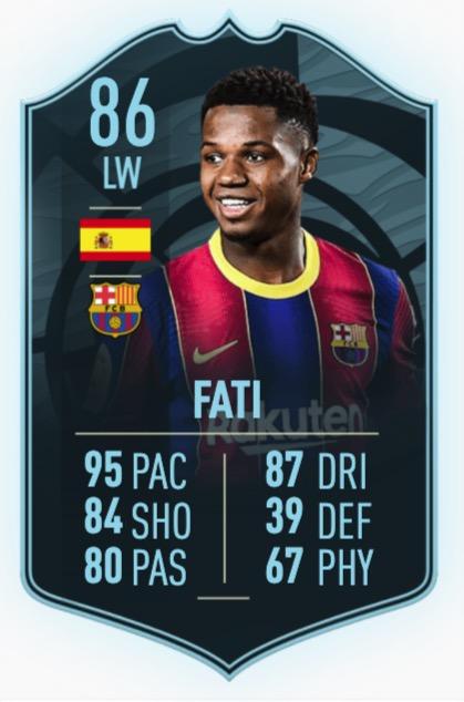 FIFA 21 Ansu Fati