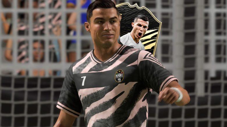 FIFA 21 TOTW 22 Ronaldo