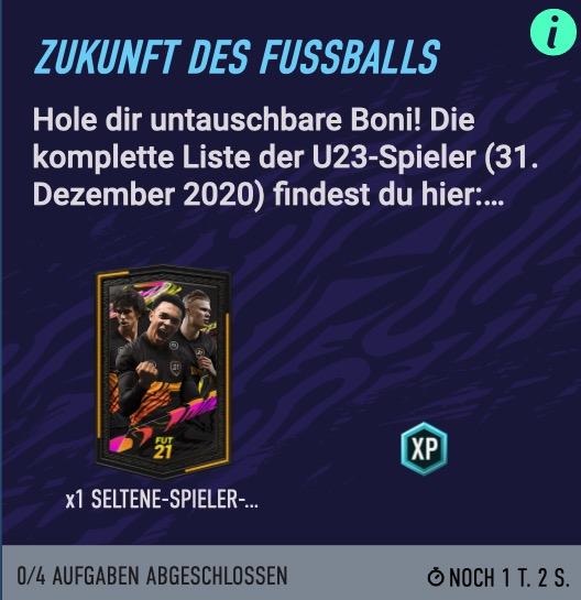 FIFA 21 Zukunft des Fußballs