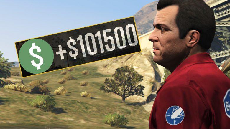 GTA Online Michael Geld Titel 3