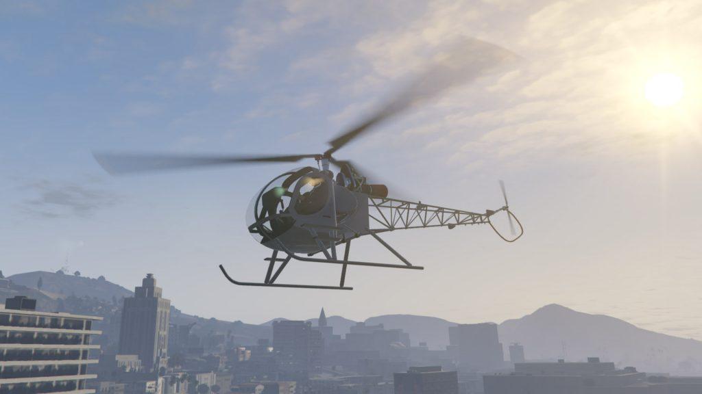 GTA Online Sparrow 2