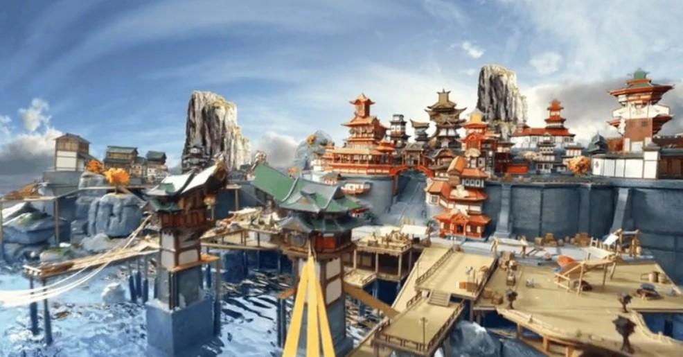 Genshin Impact Liyue Harbor Modell