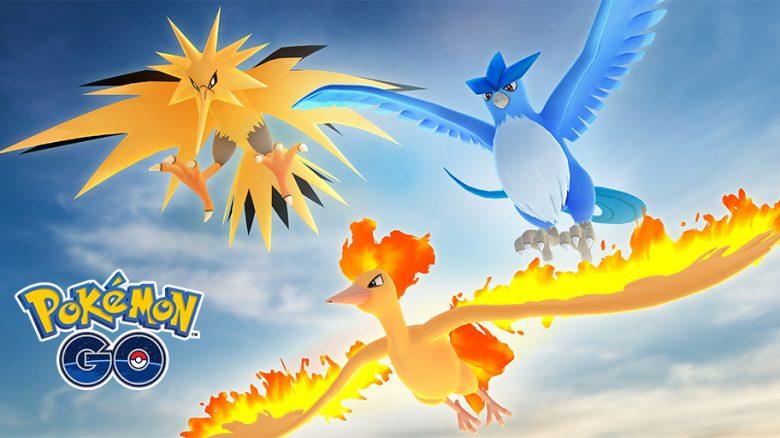 Legendäre Vögel Pokemon GO Arktos Zapdos Lavados