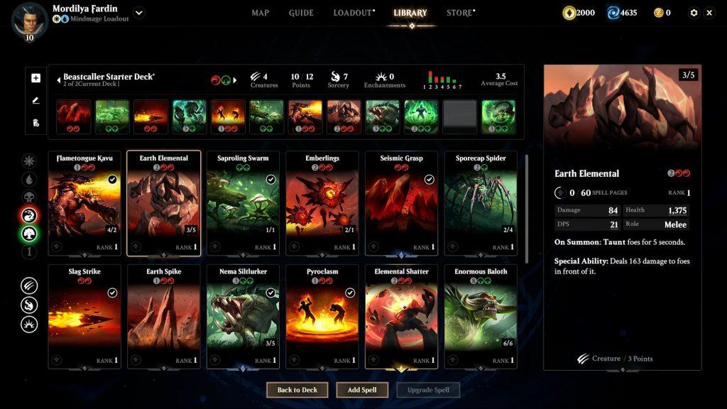 Magic Legends Deckbau 1