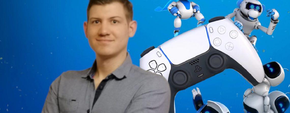 Philipp Autor Astro Bot Controller Friends PS5 Sony Titel