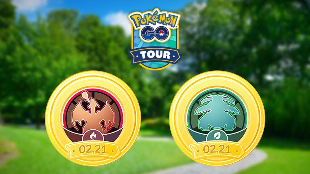 Pokémon GO Kanto Tour Rot Grün Titel
