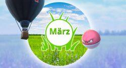 Pokémon GO März Events Titel App