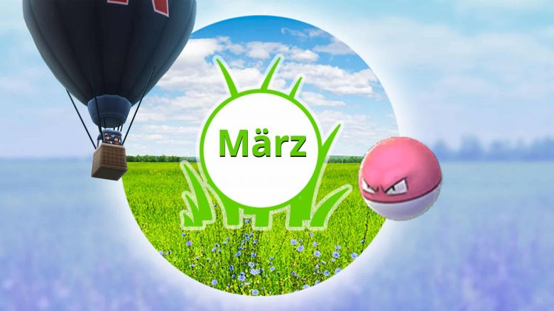 Pokémon GO März Events Titel App