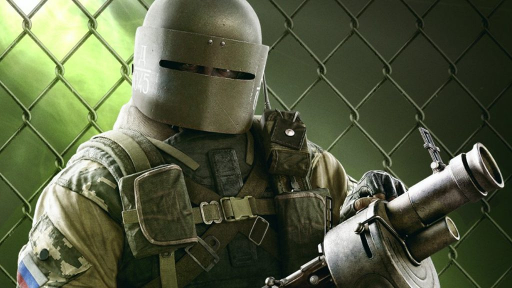 Rainbow Six Siege Tachanka 2