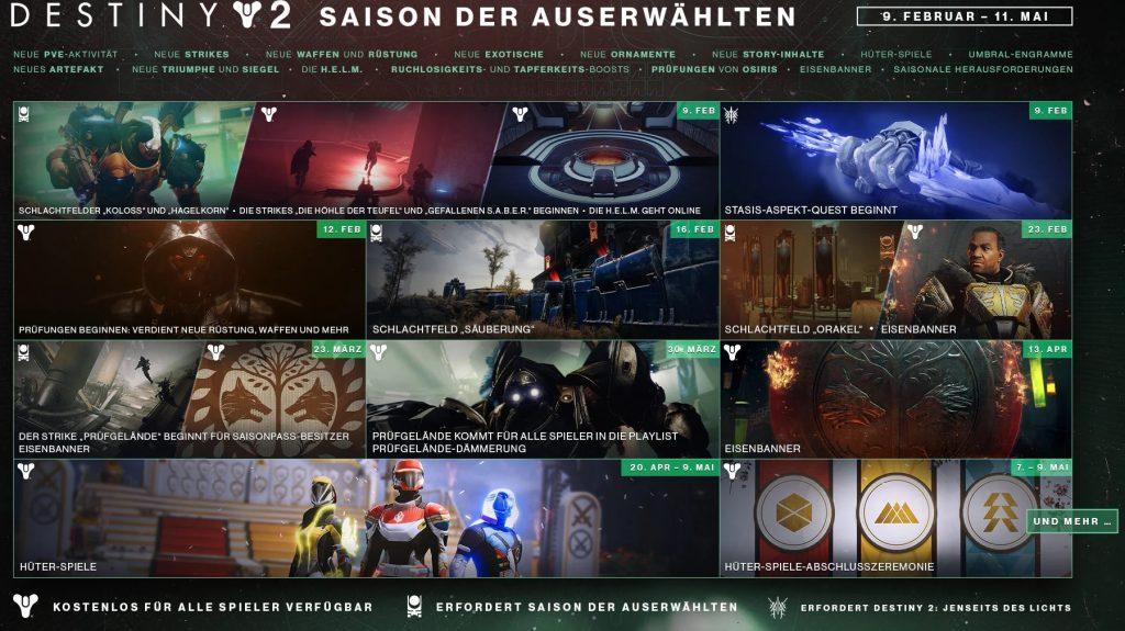 Saison der Auserwählten chosen Season 13 Destiny 2