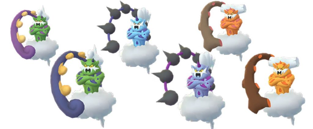Shiny Demeteros, Voltolos, Boreos Pokemon GO