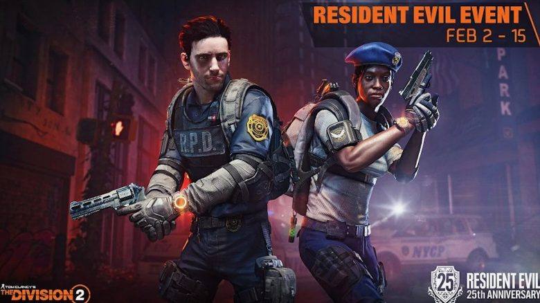 The Division 2 resident evil event title