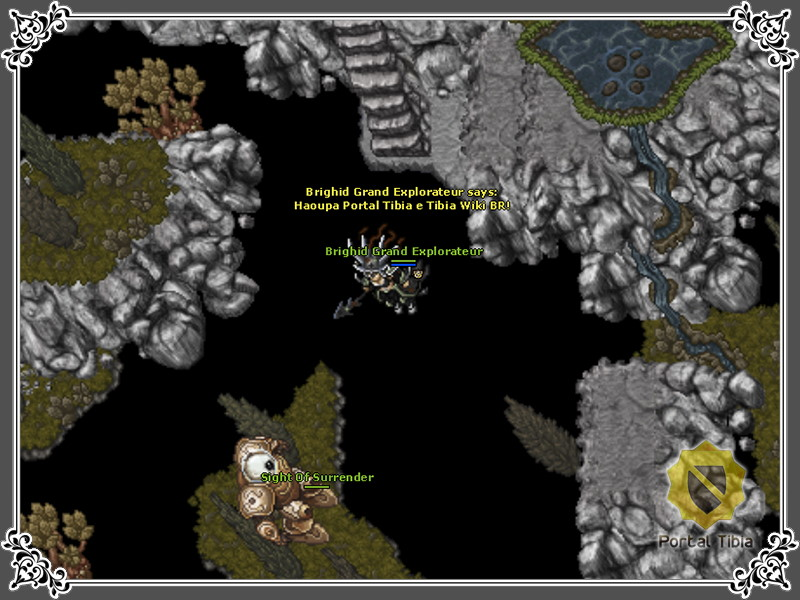 Tibia Dark Grounds Secret