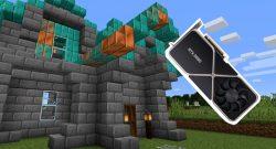 Titelbild RTX 3090 und Minecraft