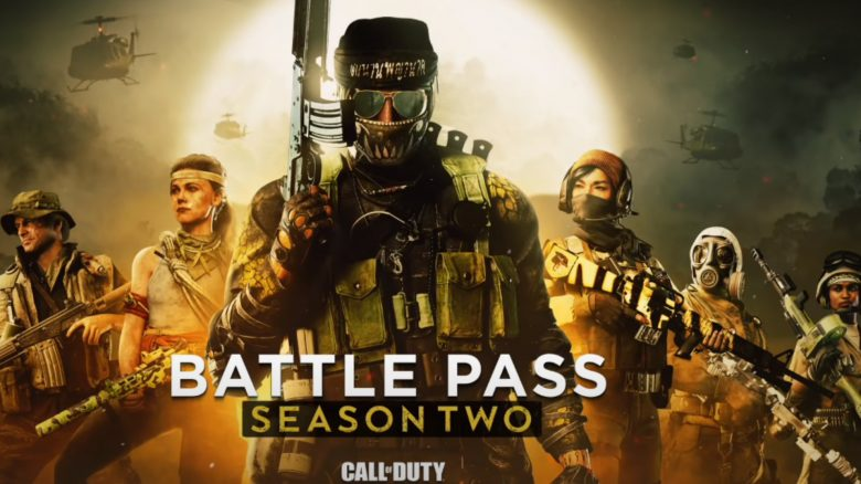 Season 2 Battle Pass CoD Cold War Warzone