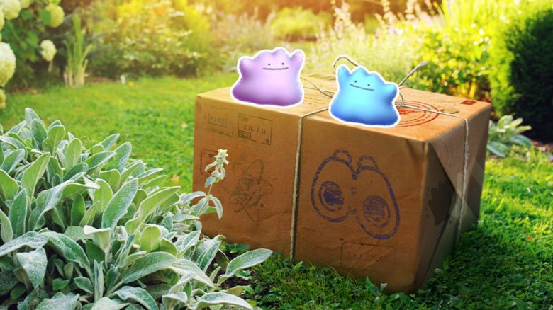 Shiny Ditto Pokemon GO